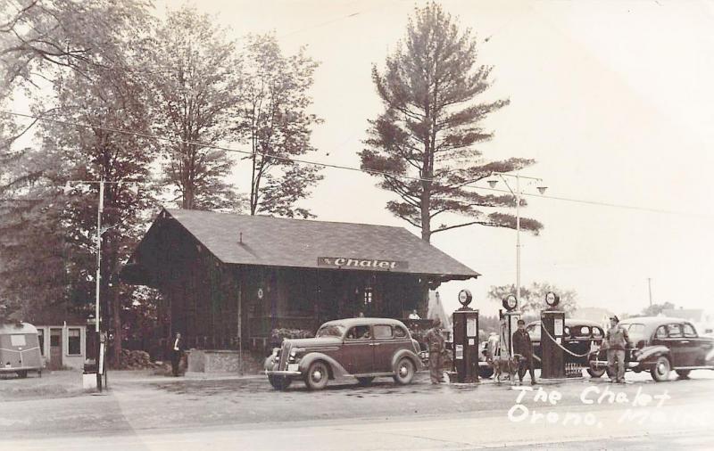 Orono Me Tydol Gas Station The Chalet Roadside Restaurant