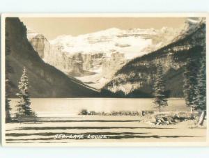 old rppc NICE VIEW Lake Louise Alberta AB W0802