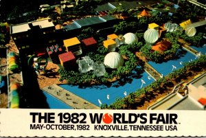 Tennessee Knoxville 1982 World's Fair Aerial Vew