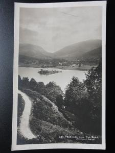 Cumbria: Grasmere from Red Bank - Old RP Postcard Pub by Abraham No.289