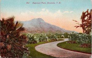 Kapiolani Park Honolulu Hawaii HI Unused Postcard F62