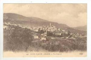 Aerial of City,Grasse,France 1900-10s
