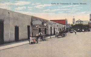 Calle del Comercio , C. Juarez , Mexico , 1914