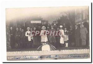 Theater PHOTO CARD Stadt Theater Kaiserslautern February 12, 1919 Photo Card