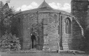 uk23220 st sepulchres church northampotn real photo uk