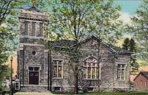 First Methodist Church Homer New York Curteich