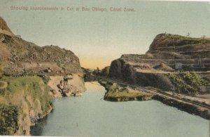 Bas Obispo , PANAMA Canal , 1900-10s ; The Cut , Improvements