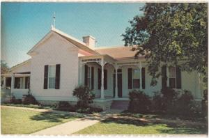 The Boyhood Home of Lyndon B. Johnson, Johnson City, Texas, unused Postcard
