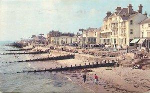 Postcard England Bognor Regis, Sussex pier West beach