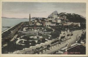 brazil, RIO DE JANEIRO, Avenida Beira Mar Gloria (1930s)