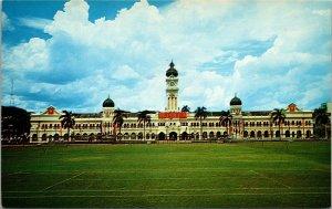 Secretariat Building Kuala Lumpur Malaya Malaysia ~ vintage postcard COLOR
