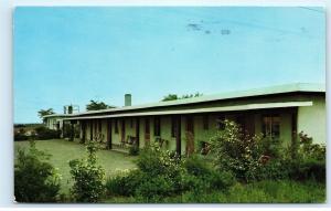 Kraft Motel US Route 30 Gary Indiana Mr. Kraft Ora Maria Huffman Postcard B27