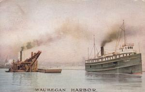 WAUKEGAN , Illinois , PU-1909 ; Harbor