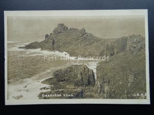 Cornwall CURNARDS HEAD - Old RP Postcard by L.B.P.