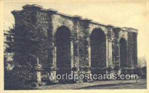 La Porte Mars, Roman Gate Rheims, France, Carte, Unused
