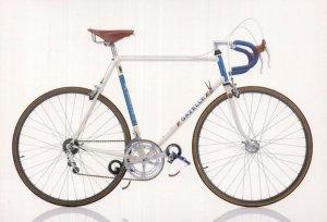 Gazelle Champion Mondial Dutch Netherlands 1980s Bicycle Bike Postcard