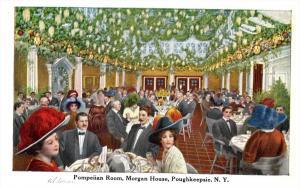 10478  NY Poughkeepsie  Morgan House  Pompeilian  Banquet Room