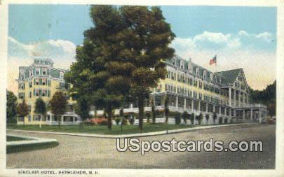 Sinclair Hotel Bethlehem Nh 1932