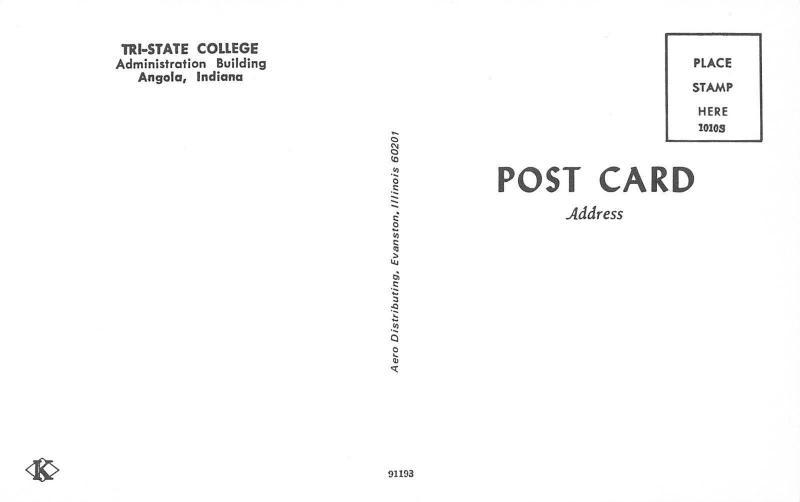 Angola Indiana~Italianate Architecture Tri-State College