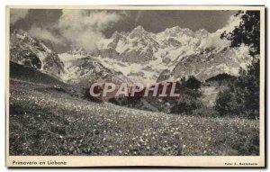 Old Postcard Primavera In Liebana