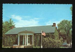 Peterborough, New Hampshire/NH Postcard, Town Library
