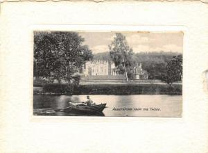 Abbotsford from The Tweed River Boat Postcard
