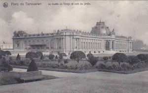 Belgium Tervuren Musee de Congo et coin du jardin 1911