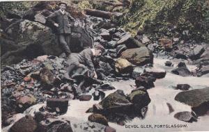 PORT GLASGOW , Renfrewshire , Scotland , PU-1907 ; Devol Glen