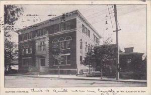 Pennsylvania Easton Easton Hospital 1907