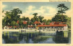 Water Front Silver Springs FL Postal Used Unknown