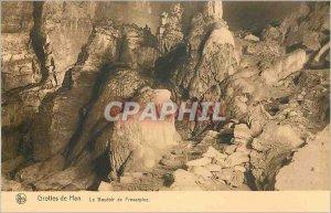 Old Postcard Han Caves Le Boudoir Proserpine