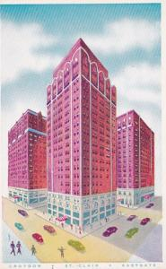 Illinois Chicago St Clair Croydon & Eastgate Hotels