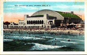 New Jersey Atlantic City New Convention Hall 1931