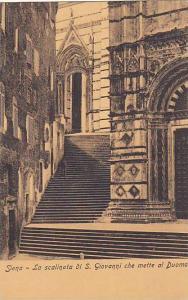 La Scalinata Di S. Giovanni Che Mette Al Duomo, Siena (Tuscany), Italy, 1900-...