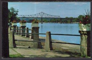 Mississippi River and Bridge,LaCrosse,WI