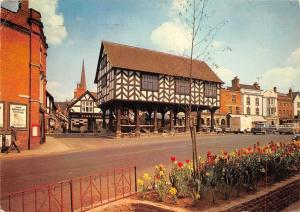 Ledbury Market Hall Herefordshire Market Place Vintage Cars