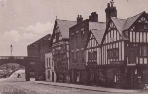 CHESTER , England , 1904 ; Cottages on Watergate Street : TUCK