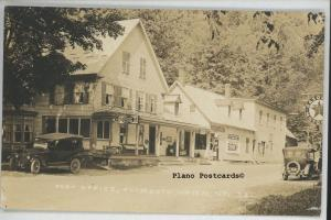 PLYMOUTH UNION, VERMONT POST OFFICE &ROADSIDE GROCERY RPPC REAL PHOTO POSTCARD