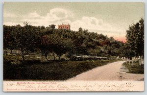 Gilford New Hampshire~Kimballs Castle From Belknap Point Road~1906 Postcard
