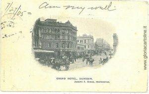 VINTAGE POSTCARD: NEW ZELAND - DUNEDIN - 1905