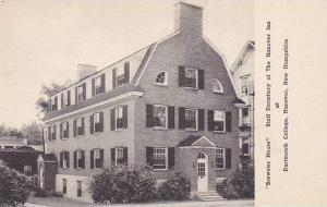 New Hampshire Hanover Brewster House Staff Dormitory Of The Hanover Inn At Da...