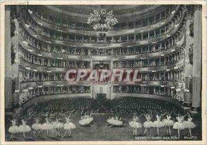 Modern Postcard Milano Interno La Scala