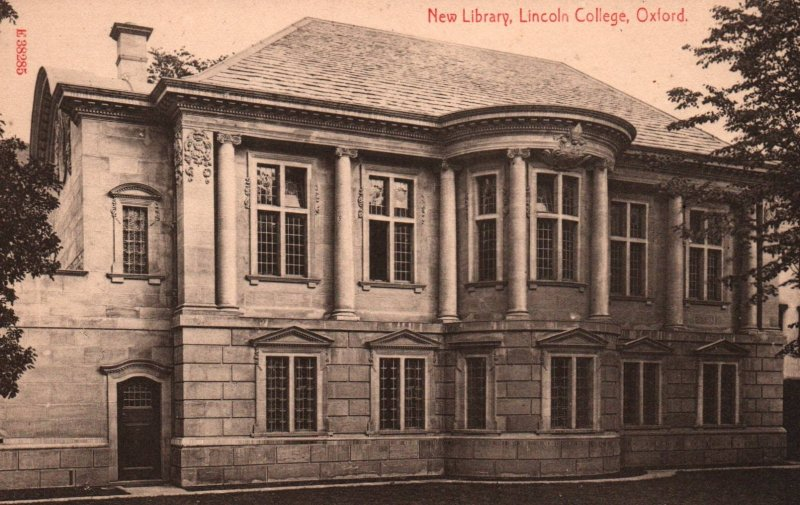 New Library,Lincoln College,Oxford,England,UK