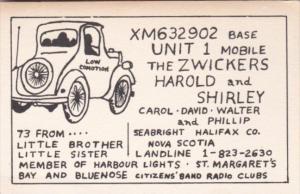XM632902 Harold & Shirley Zwicker Seabright Halifax Nova Scotia Canada