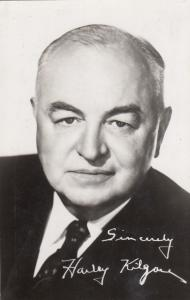 RP: Harley Kilgore, Former United States Senator, 1930-50s