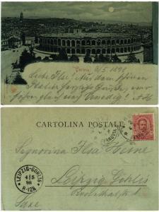 CPA VERONA Verona . ITALY (492996)
