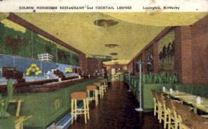 Golden Horseshoe Restaurant  Lexington KY 1951