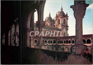 Postcard Modern Cloister of the Monastery Alcobaca Leiria