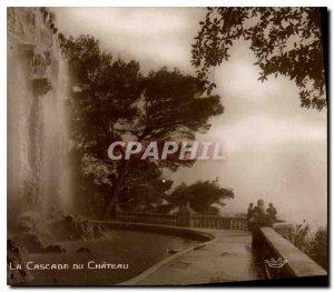 Old Postcard The Cascade du Chateau Nice