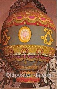 Montgolfier Balloon Modern Card Unused